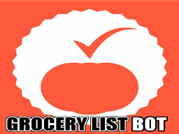 Grocery List Bot