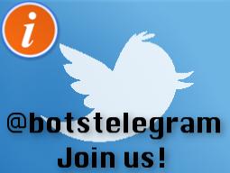 Twitter – @botstelegram